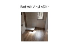 Bad mit Vinyl Aßlar
