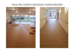 Haus des Lebens Aartalsee Linoleumboden