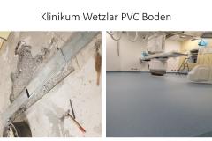 Klinikum Wetzlar PVC Boden